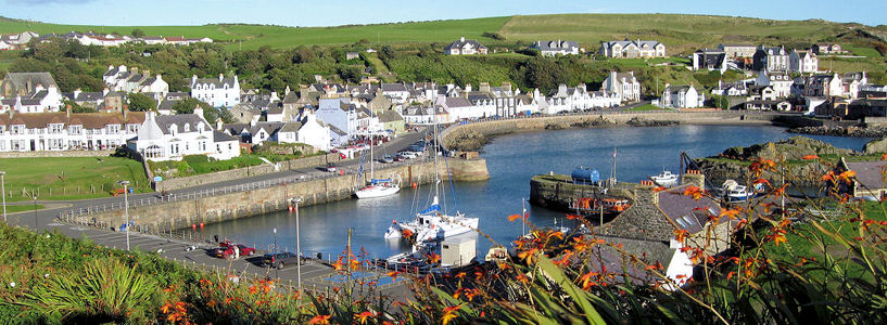 Portpatrick Feature Page on Undiscovered Scotland